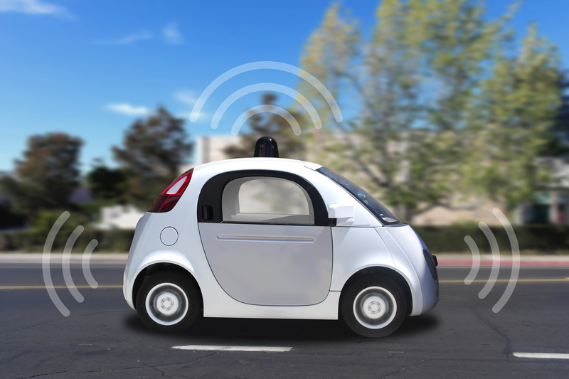 Autonomous self-driving driverless vehicle with radar driving on the road (source: ID 57148848 © Hong Li | Dreamstime.com)