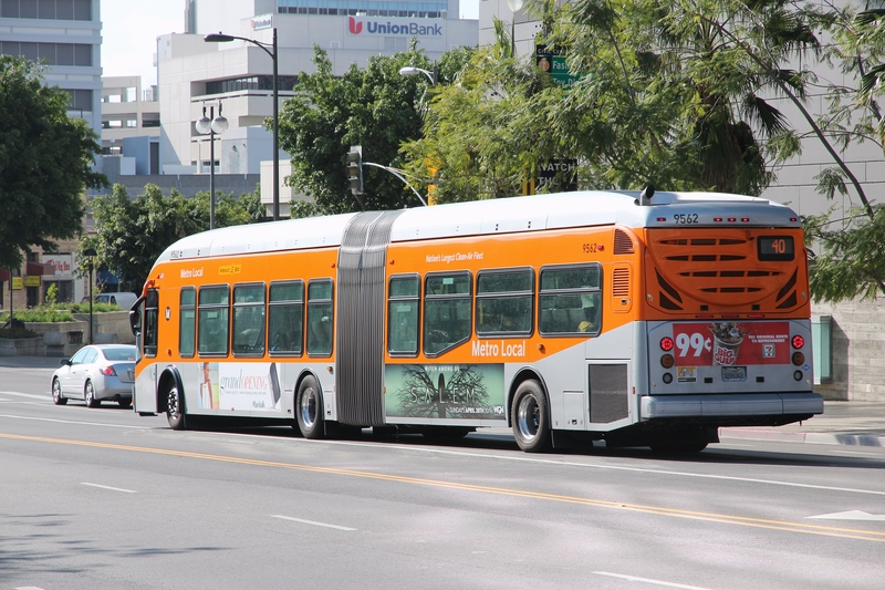 Los Angeles city bus
