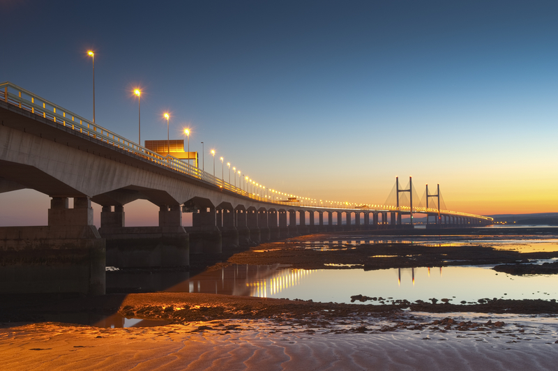The Severn Bridge: one of the major transport links between Wales and England (© Matthew Dixon | Dreamstime.com)