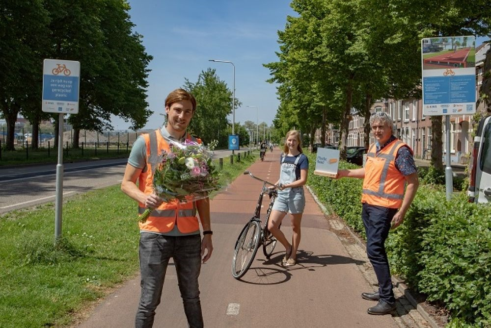 A million bicycle passes later, PlasticRoad is the real thing