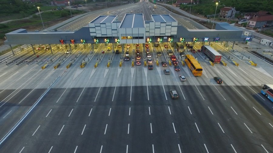 Tattile - toll station Belgrade