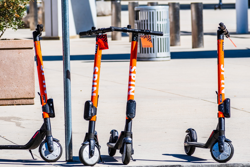 Spin study will explore where e-scooter users most often ride ( © Andreistanescu | Dreamstime.com)