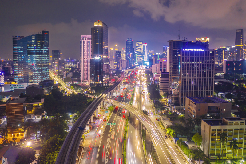 Jakarta Mobility as a service Thales Lyko © Paulus Rusyanto | Dreamstime.com