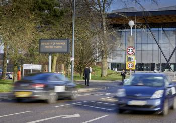 Warwick University parking - Swarco