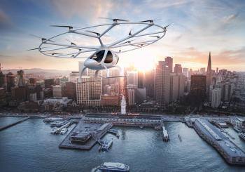 Volocopter is also in the process of receiving EASA certification (© 2017 The Foreign Office Collective)