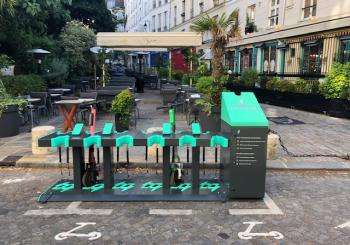 Charge wants to ensure e-scooters are organised, docked and charged in Paris (Credit - Charge Enterprises)
