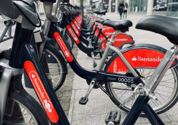 Bike-share London micromobility Santander (© ITS International)