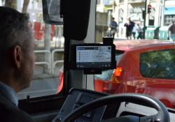 The bus android tablet