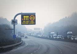 Smart motorways are the subject of safety concerns in the UK (Picture: Highways England)