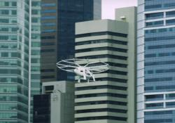 Volocopter over Singapore