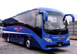 ComfortDelGro is to operate the first Volvo B8R bus equipped with a collision warning and emergency brake feature in Singapore (credit: ComfortDelGro)
