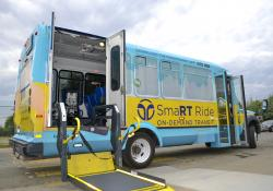 : SmaRTRide wheelchair paratransit (Source Via)