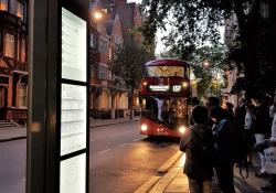 Papercast trials e-paper displays in London (Source: Papercast)