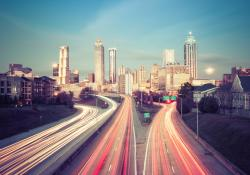 Atlanta connected vehicles (© Nickolay Khoroshkov | Dreamstime.com)