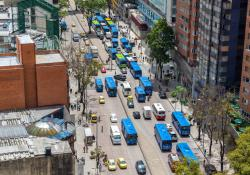 Inrix ranks Bogota as the most congested city in the world (Source: © Jesse Kraft | Dreamstime.com)