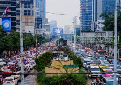 Bangkok toll is expected to reduce emissions (© Chiradech Chotchuang | Dreamstime.com)