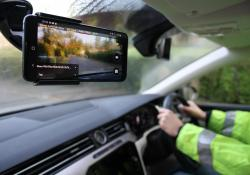 The RoadAI system combines live road video with state-of the-art analytics for carrying out road inspections (Vaisala)