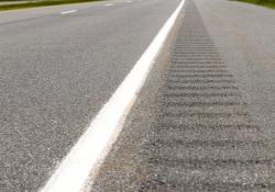 Australia rumble strips will make a 'rumble' sound when a driver moves out of the lane (© Madscica | Dreamstime.com)