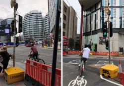 SRL's Urban64 in action at London's Old Street roundabout redevelopment