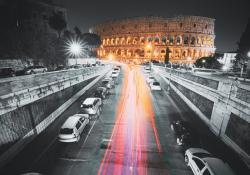 PTV traffic management Rome © Ryhor Bruyeu | Dreamstime.com