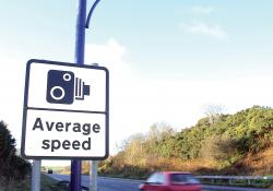 Average speed enforcement's deployment in the UK