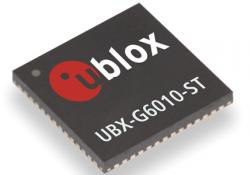 U-blox 6 GPS receiver platform has been upgraded