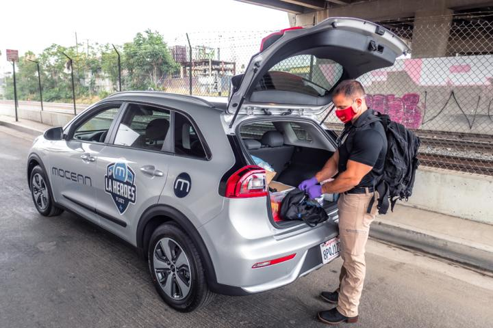 Delivering healthcare to LA's homeless: a new use for car-share (© MoceanLab)