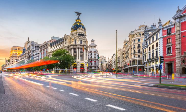 Madrid traffic management